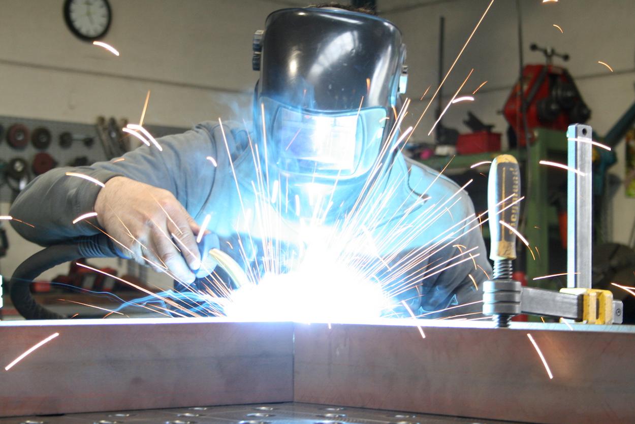 Metallbearbeitung vom Profi bei Metallbau Schlosserei T. Heyny